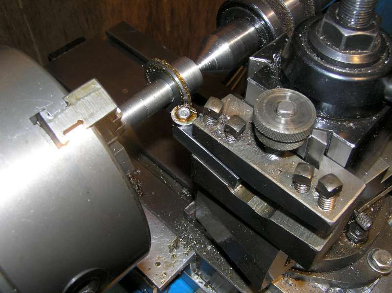 Gear Cutting Setup by Torch -- Homemade setup for cutting spur gears