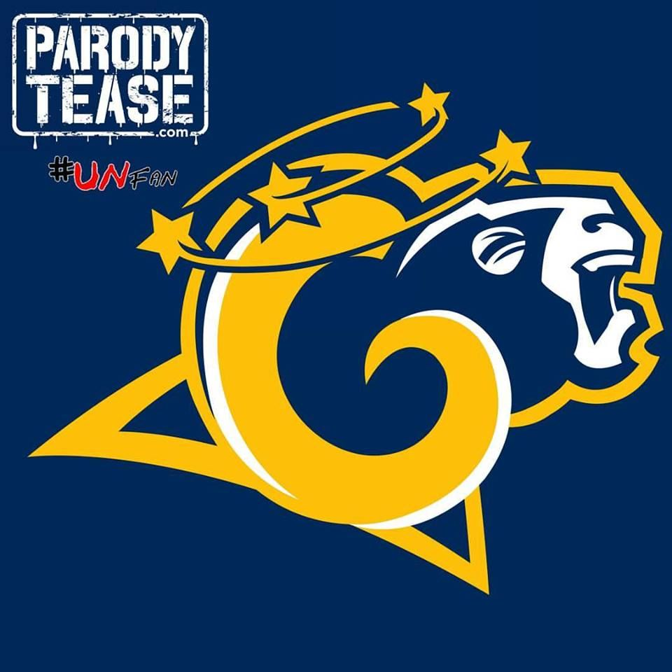 LA Rams funny parody logo #LArams #NFL #rams #stlouisrams #NFCWEST ...