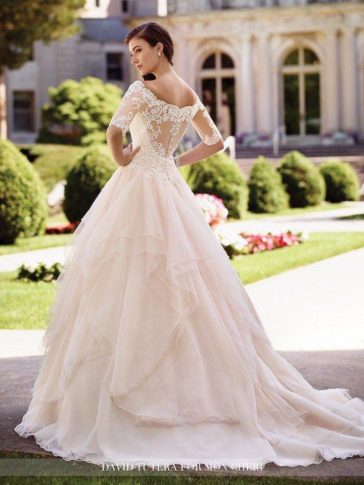 The Hottest Trend Illusion Back Wedding Dresses Boda Y