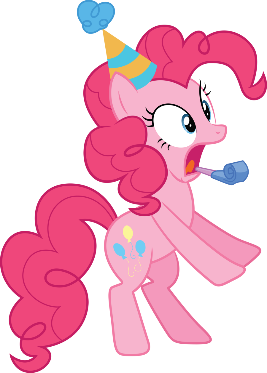 Pinkie Pie No Party Little Pony Birthday Party Little Pony Party My Little Pony Party