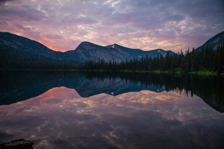 Mission Mountain Sunrise by Brian Powers, via 500px