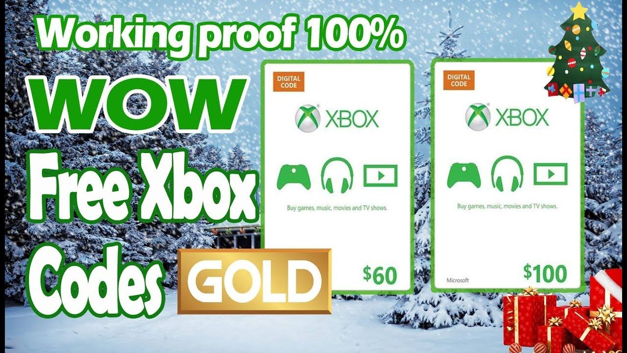 [December] How To Get Free Xbox Codes AND Xbox Live Gold