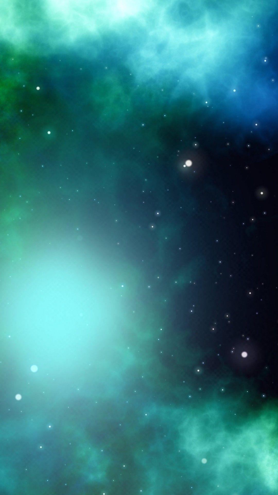 Galaxy Blue Green Wallpaper Ios Green Wallpaper Abstract Wallpaper Wallpaper