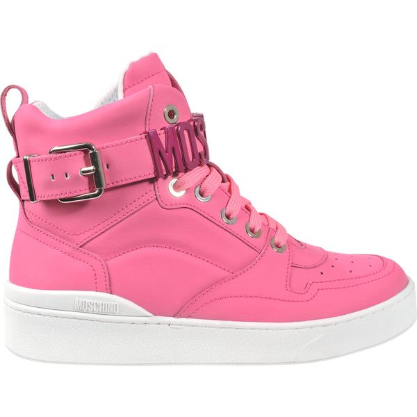 moschino pink shoes