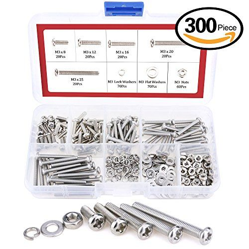 cheap hilitchi phillips pan head screws bolt nut lock flat washers categories kits 304 stainless steel on sale