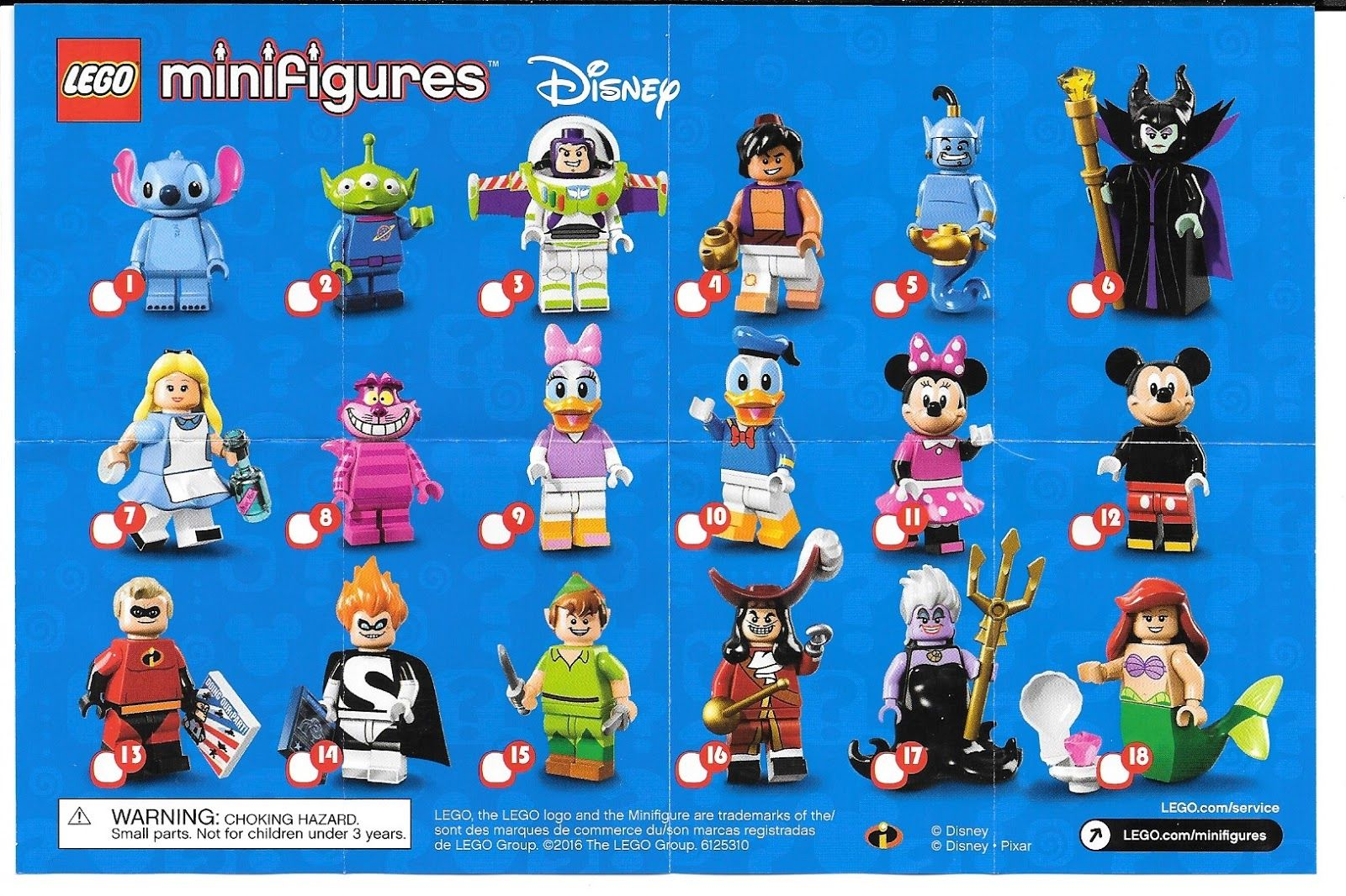 LEGO-MINIFIGURES  DISNEY X 1 TORSO FOR MR INCREDIBLE FROM LEGO DISNEY PARTS