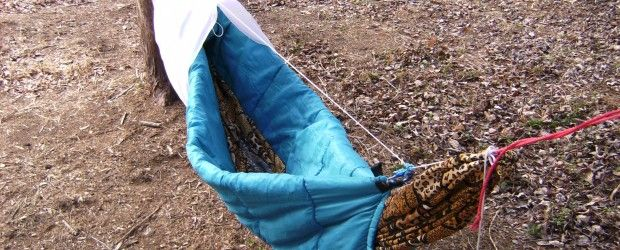 How To Make A Diy Camping Hammock Underquilt From A
