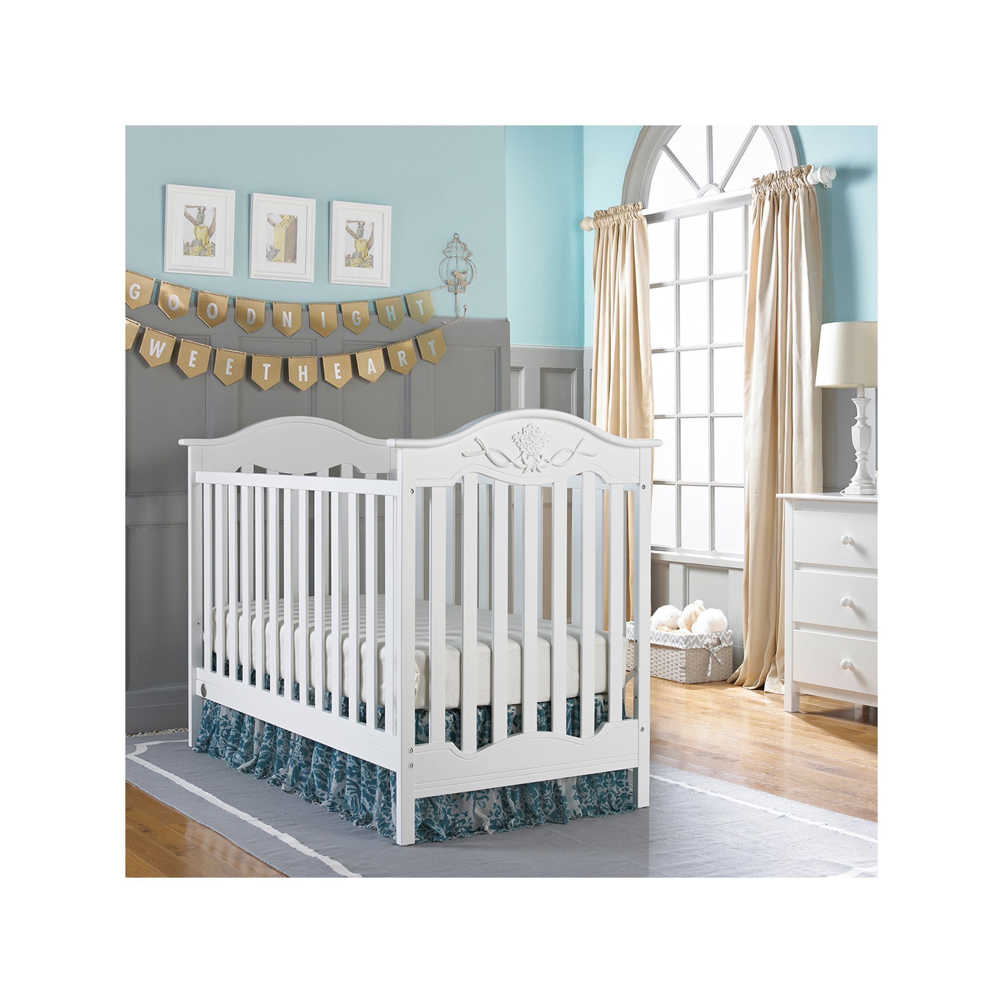 Fisher Price Charlotte Rose 3 In 1 Traditional Crib Products