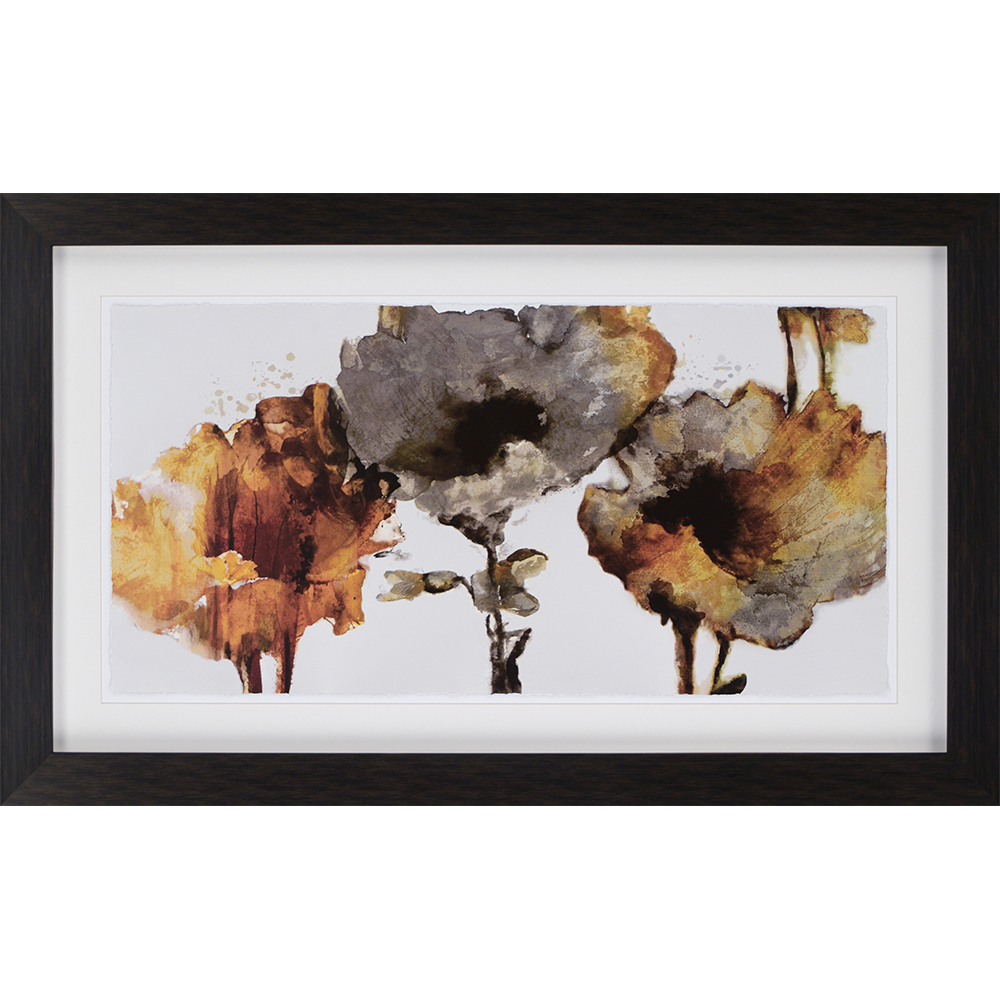 Dancing Flowers Are Hand Deckled And Float Mounted In White Framed In A Dark Wood Finish Molding Painting Frames Painting Prints Kids Art Wall Frames