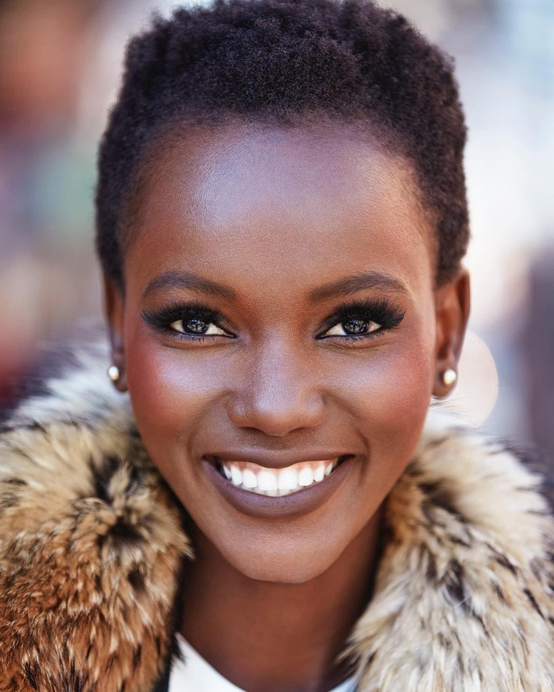 Tanzanian Model  Represented by Women Management|| Maybelline Newyork Brand Ambassador|| Snap:  Herieth