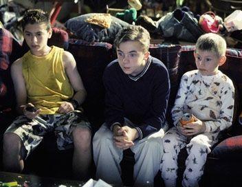 Justin Berfield, Frankie Muniz and Erik Per Sullivan ...