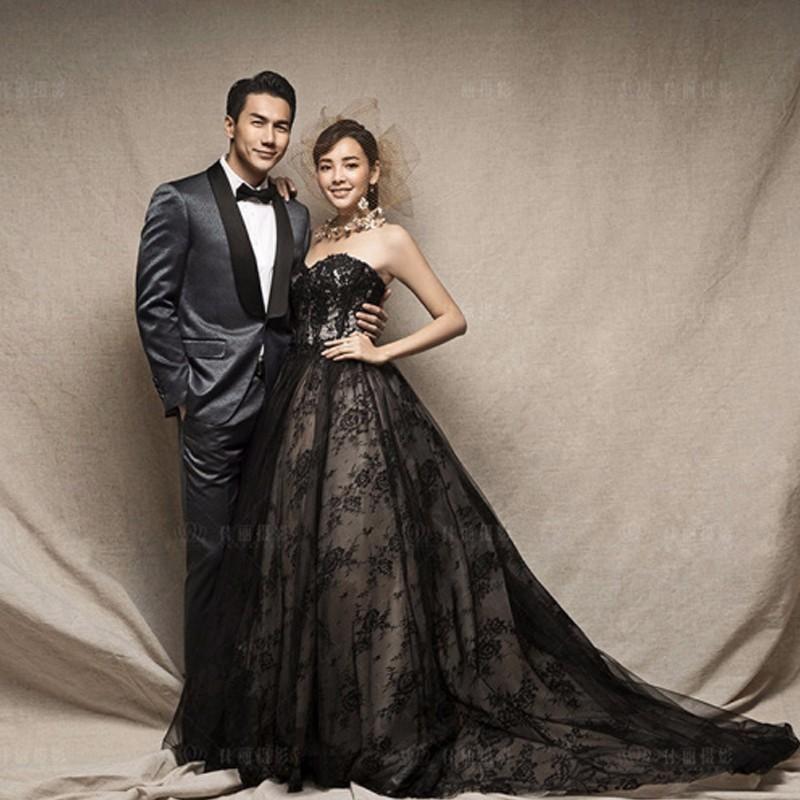 25++ Vintage gothic black wedding dresses information
