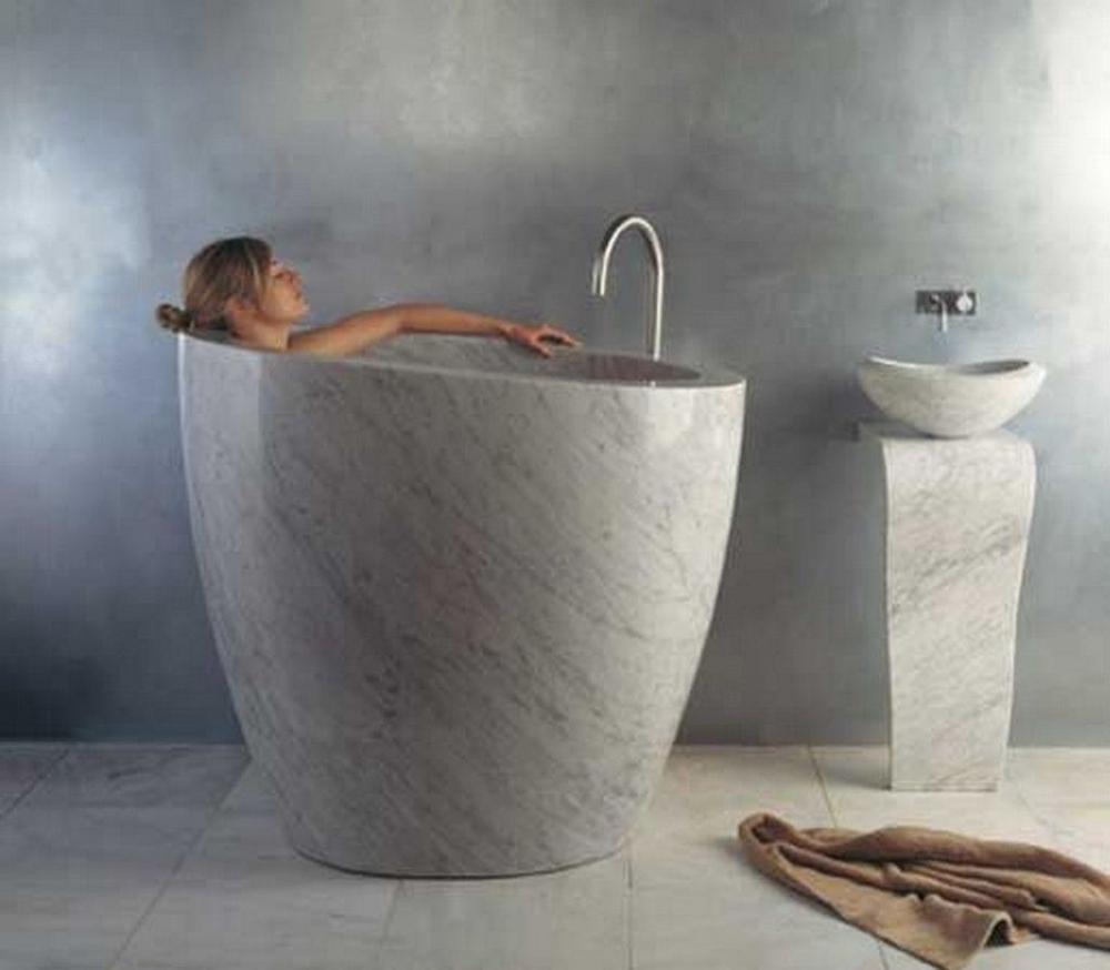 Captivating Bathtub Designs Ideas You Must See16 Jpg Jpeg 图像 1024x895 像素 Kleine Badewanne Minimalistischer Einrichtungsstil Badewanne Aus Stein