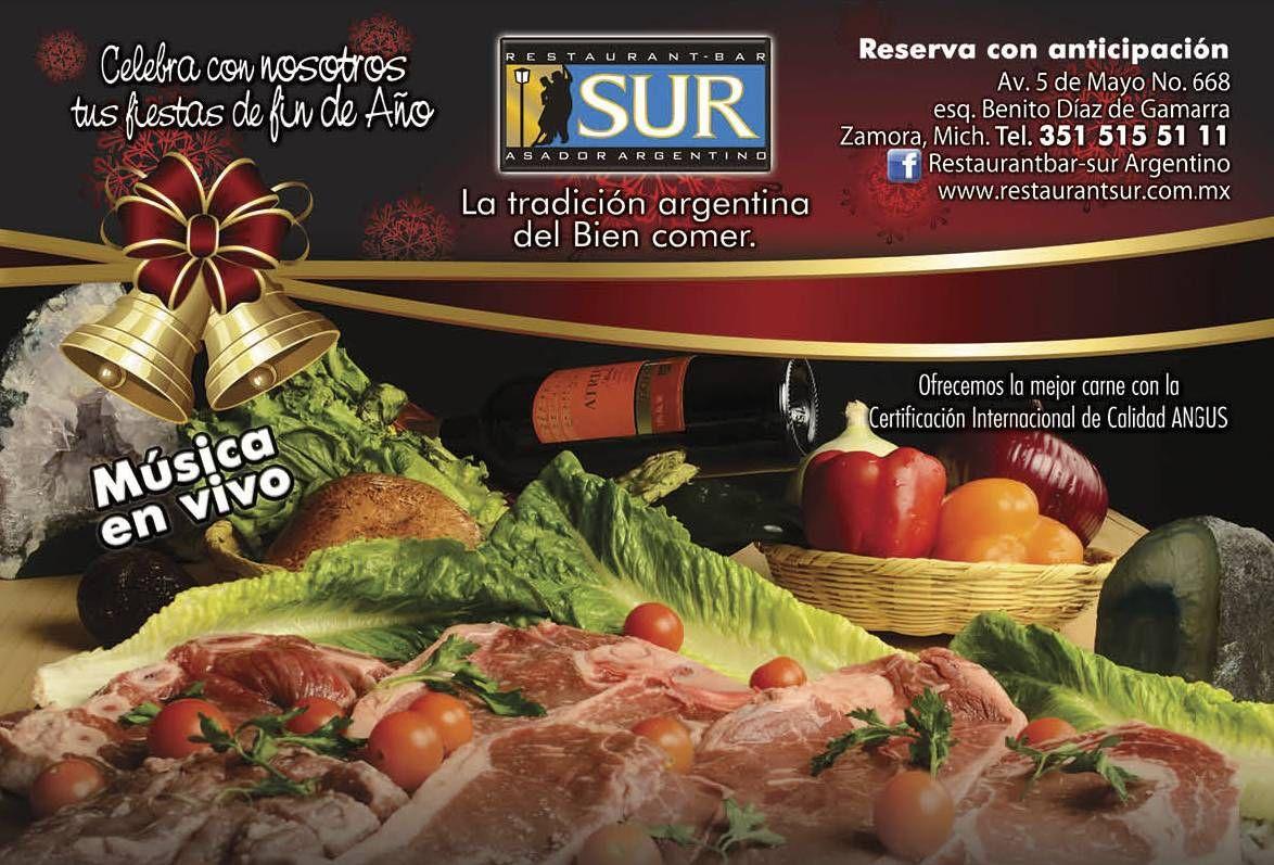 Las Fiestas Se Celebran En El Mejor Lugar Sur Restaurante Asador  # Nuova Muebles Zamora
