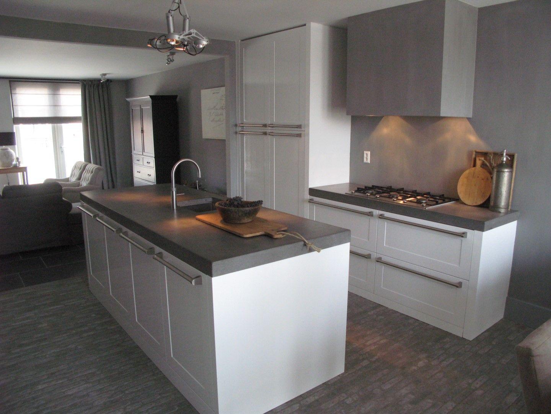 White Keuken Stoere : Stoere landelijk moderne keuken diepeveen keukens