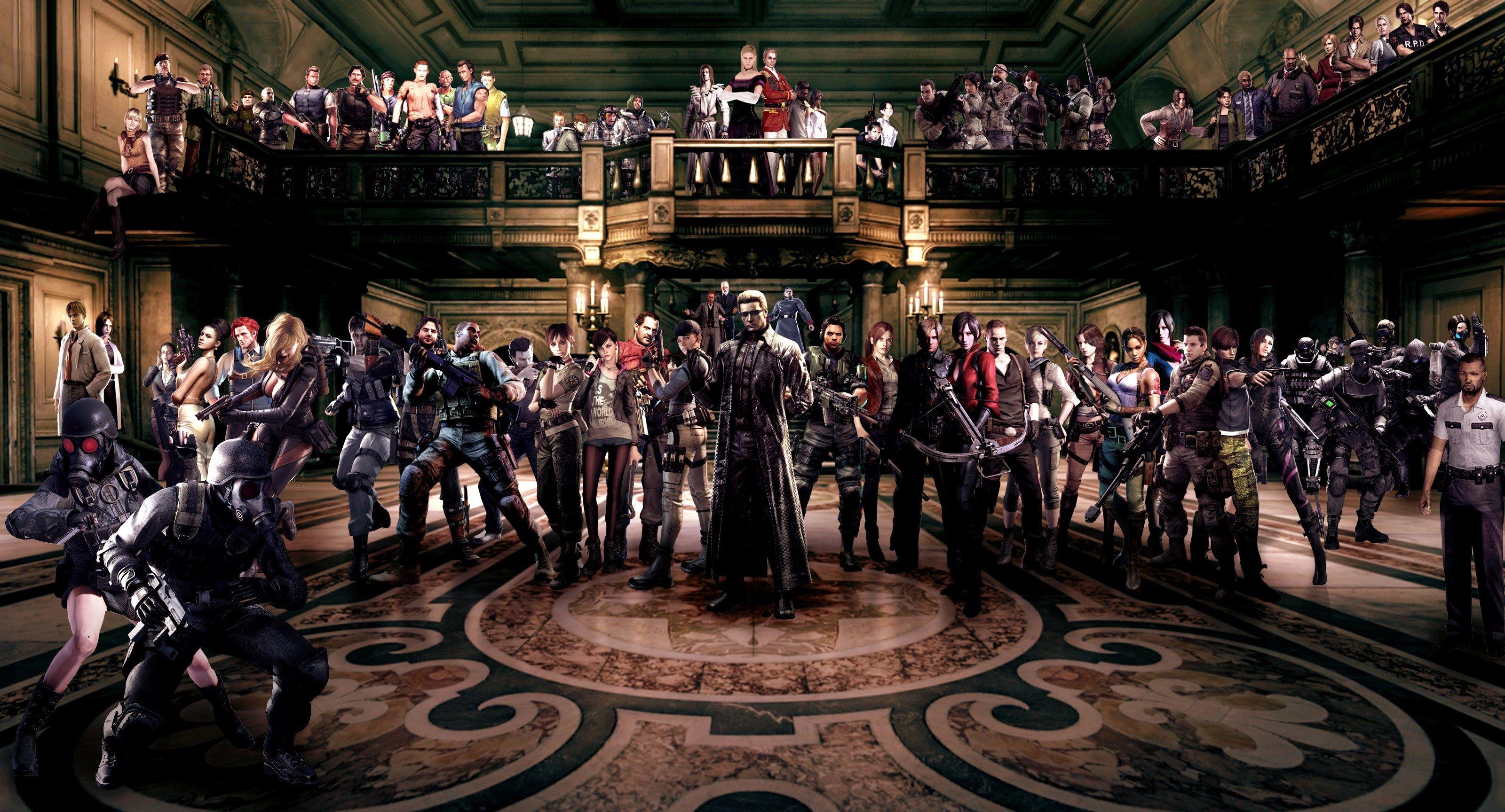 Resident Evil Characters Hd Wallpaper Ololoshenka Pinterest Revelations 1 Reg 3