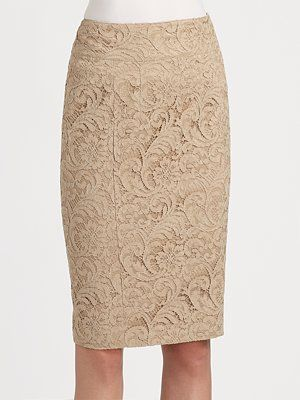 c62788b98e Burberry London Lace Pencil Skirt | Closet of my Dreams | Lace, Lace ...