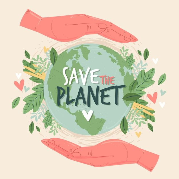 Download Save The Planet Concept for free