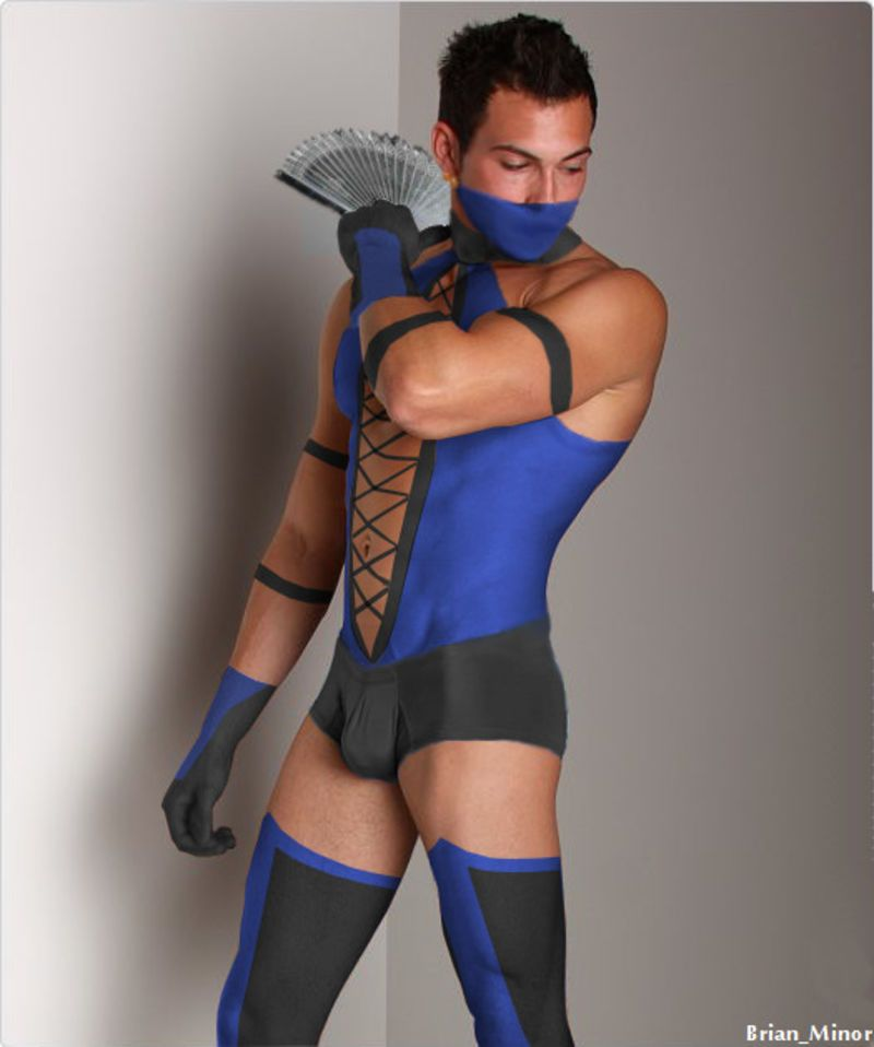 Prince Kitana Gender Fluid Fashion Cosplay