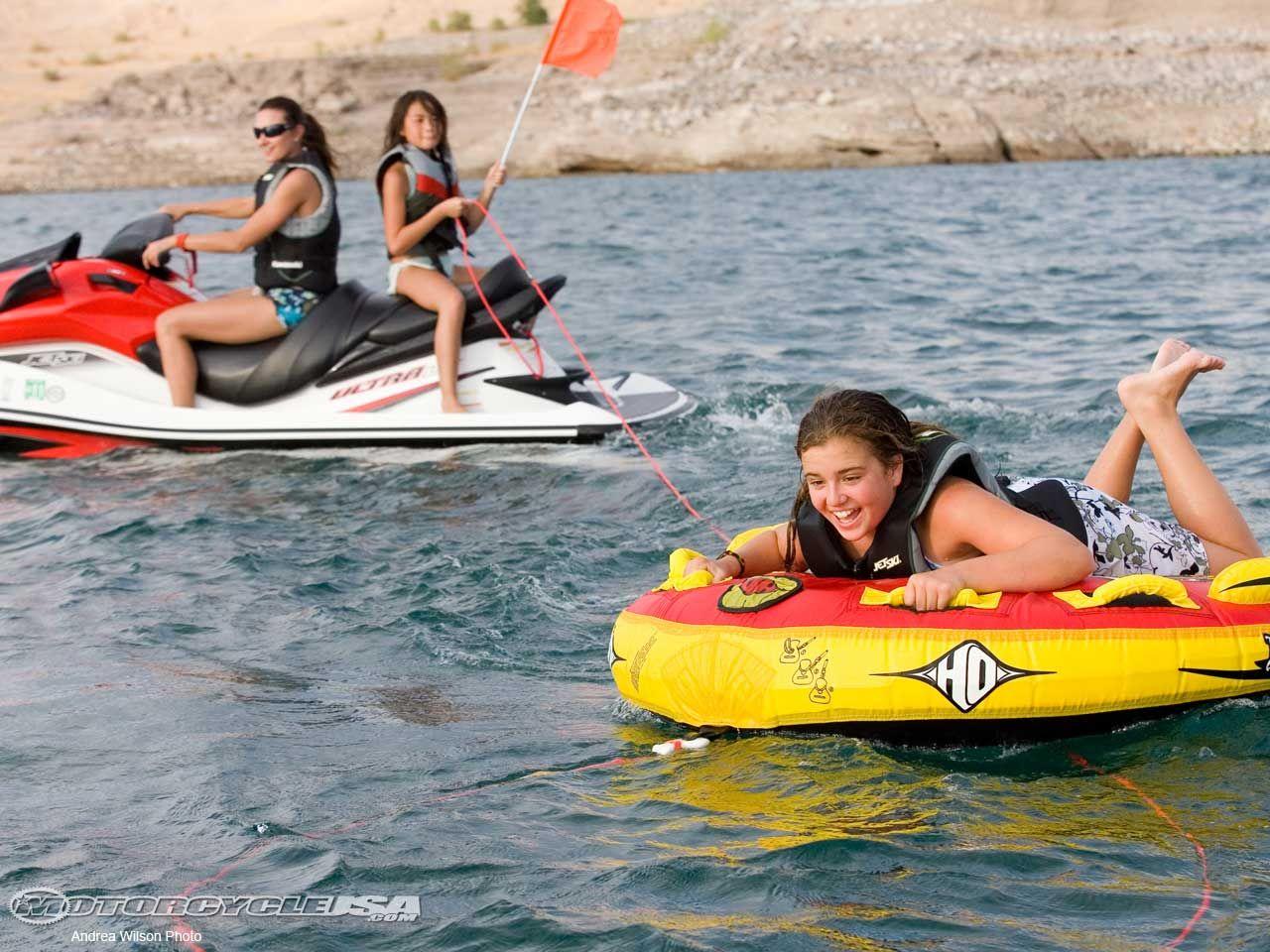 Do you think the kids enjoy tubing behind the jet ski
