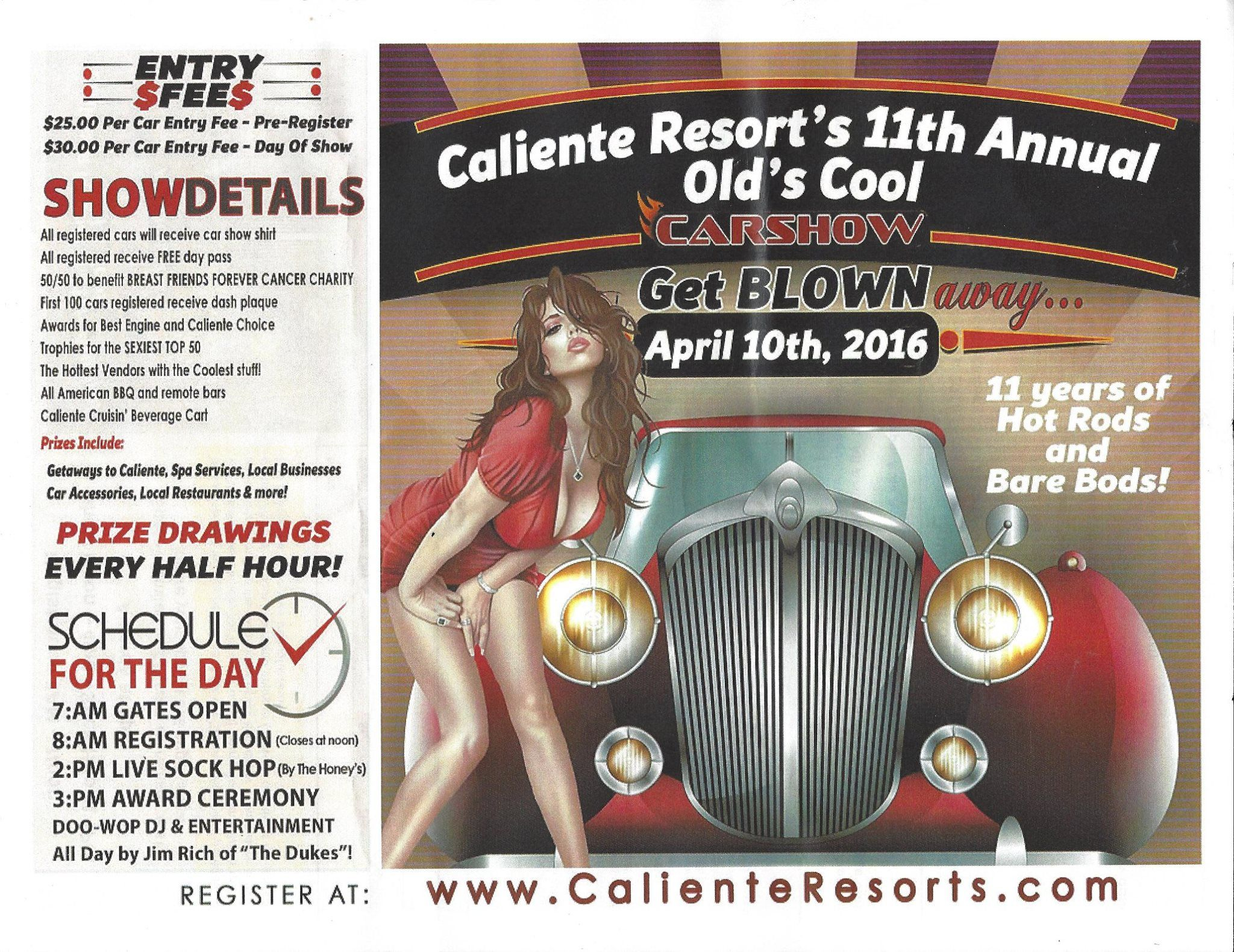CalienteResort & Spa is once again hosting our #Bare Bods, #Hot ...