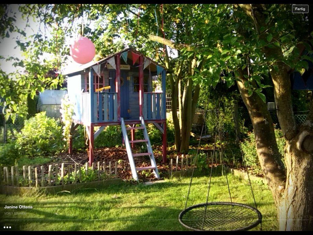 spielhaus garten garden pinterest spielhaus garten spielhaus und g rten. Black Bedroom Furniture Sets. Home Design Ideas