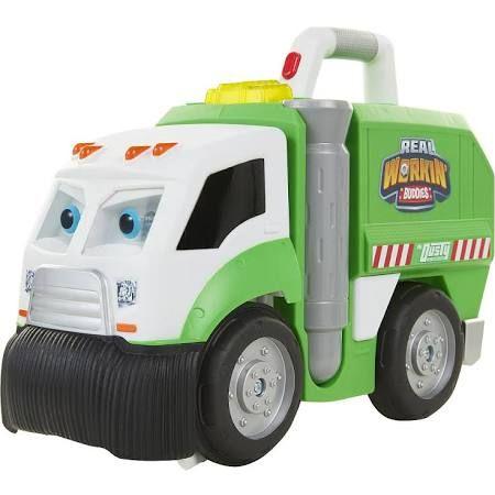 Jakks Hk Ltd Real Workin Buddies Talking Garbage Truck Mr Dusty