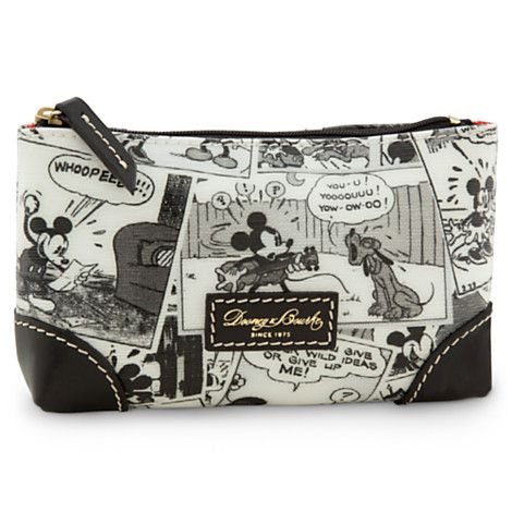 Mickey Mouse Comics Cosmetic Bag By Dooney Bourke