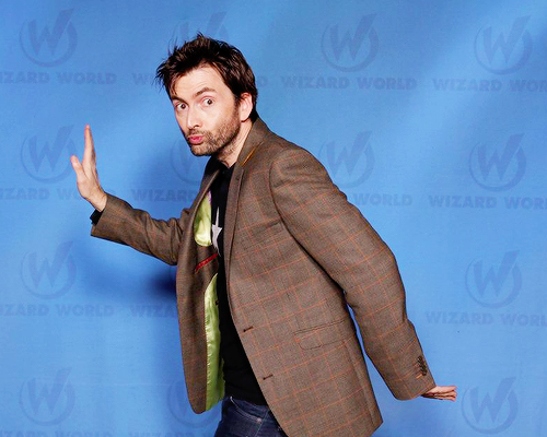 David Tennant At Wizard World Comic Con Raleigh - março-2015