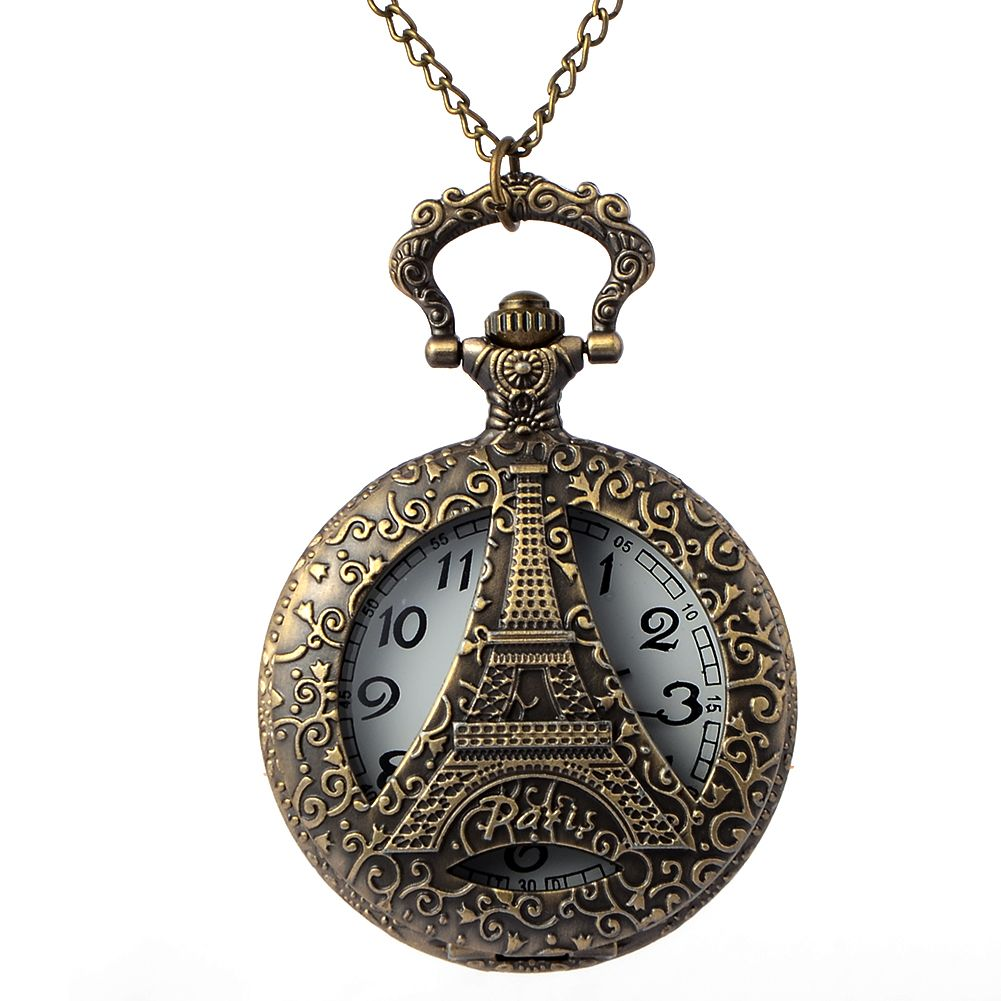 Click to buy ucuc cindiry antique bbronze hollow eiffel tower in paris
