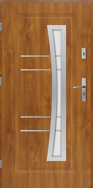 Drzwi stalowe dostępne w krótkim czasie ! Model Indiana Inox…