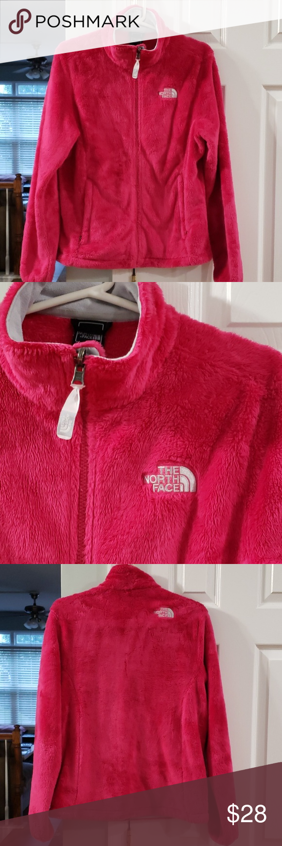 The North Face Fuzzy Pink Jacket Pink Jacket The North Face Clothes Design [ 1740 x 580 Pixel ]