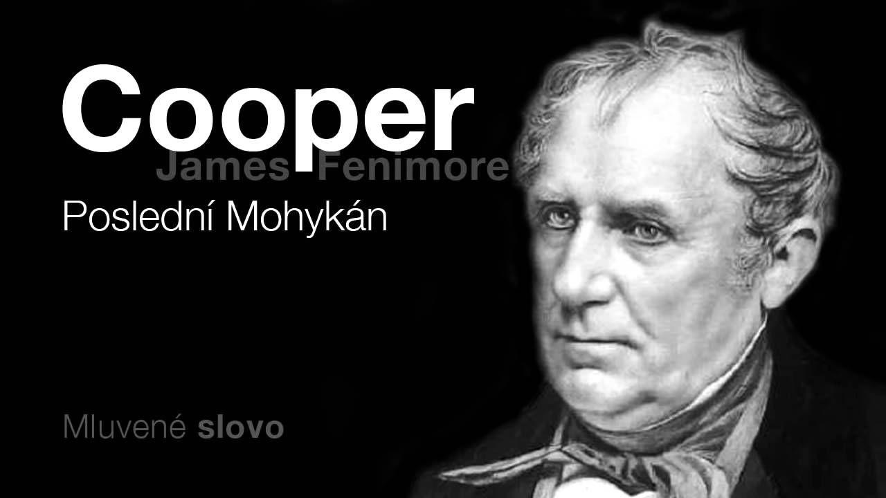 MLUVENÉ SLOVO   Cooper, James Fenimore   Poslední Mohykán DOBRODRUŽNÉ