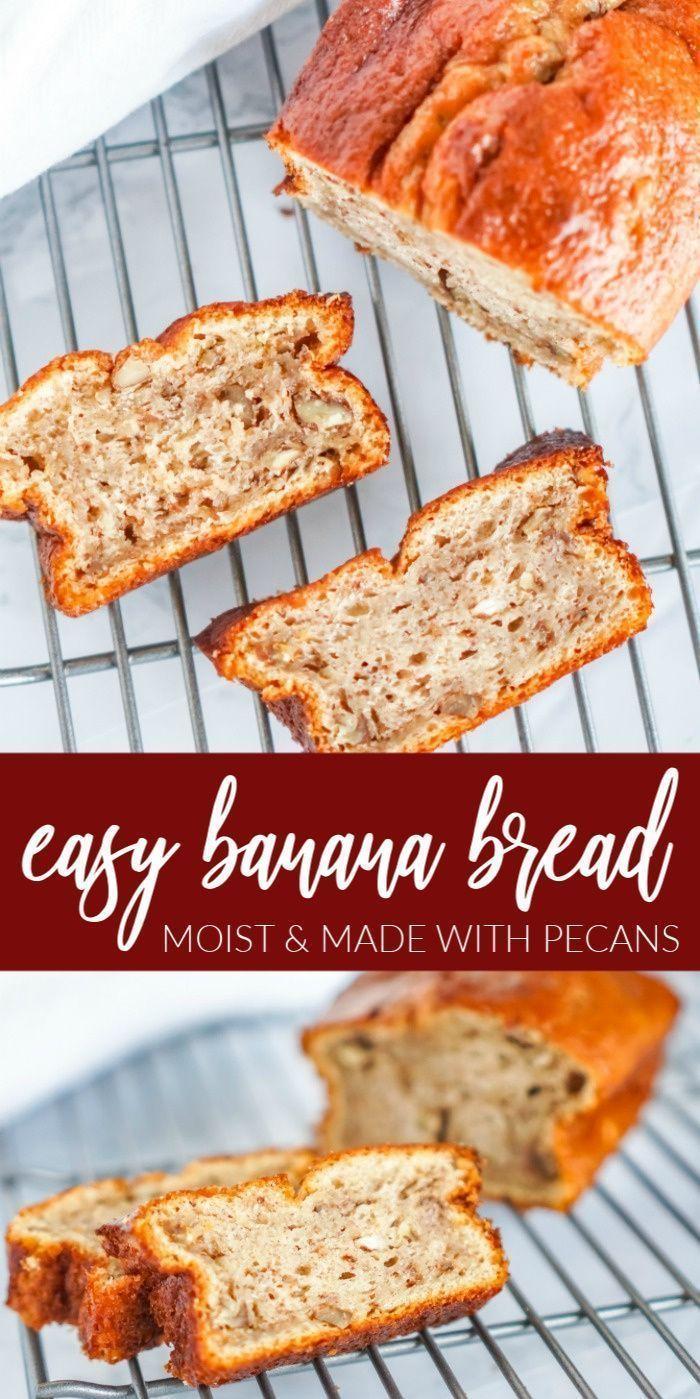 Easy Banana Bread | Recipe | Easy banana bread, Banana ...