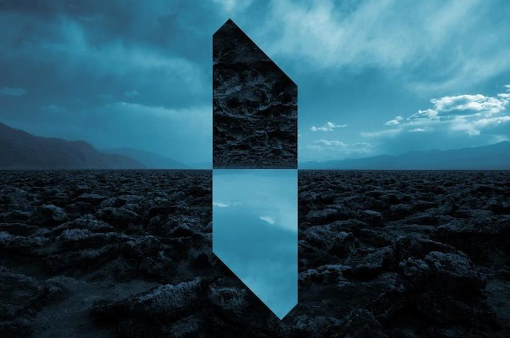 Amazing Landscapes Distorted With Geometric Fragments Landscape Photography Geometric Photography Creative Landscape