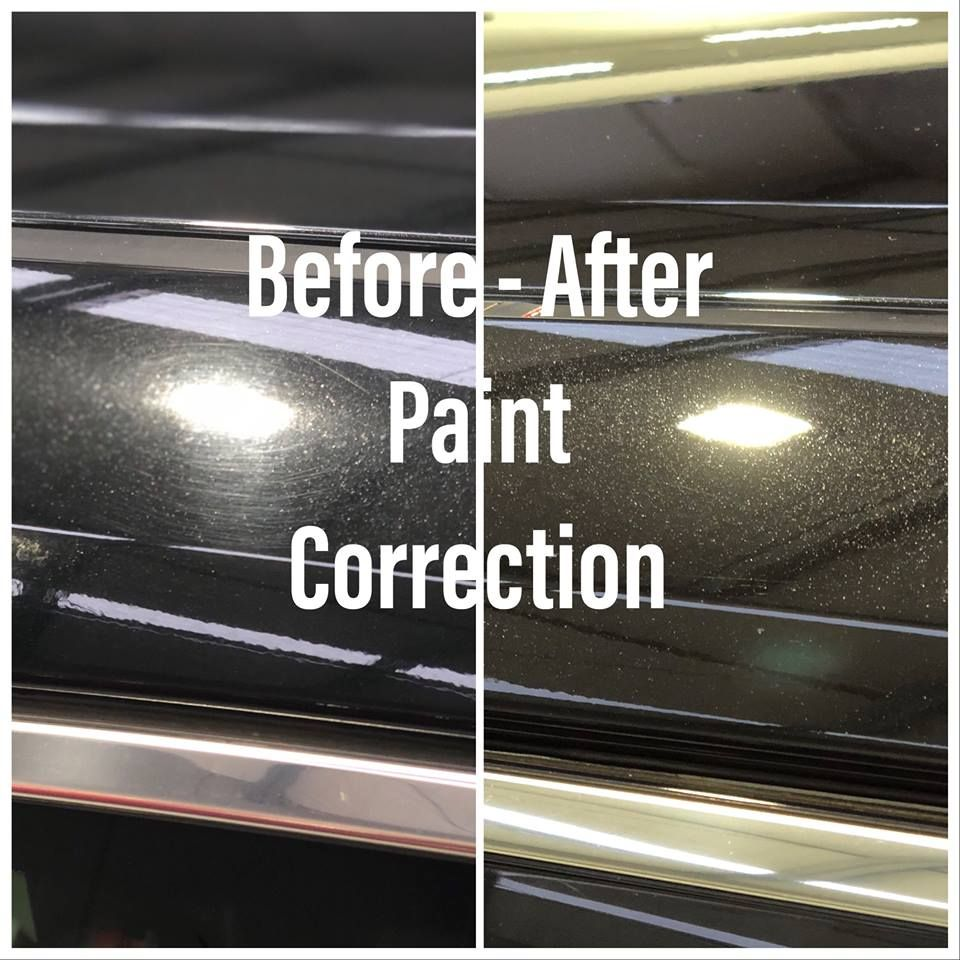 What is Paint Correction? The process of restoring and