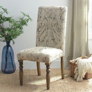 Room Paisley Pompeii Sky Parsons Chair