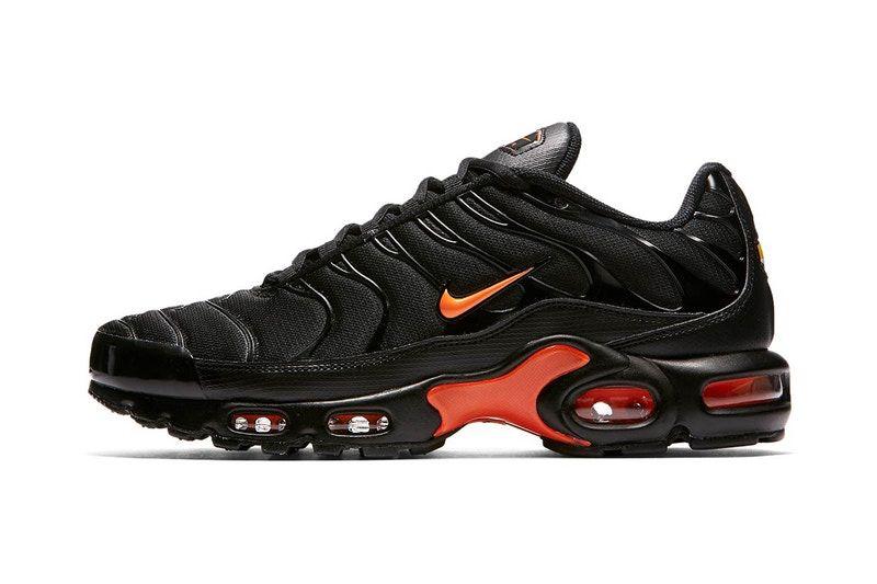 4477f258f009dc Nike s Air Max Plus Dons a Sleek