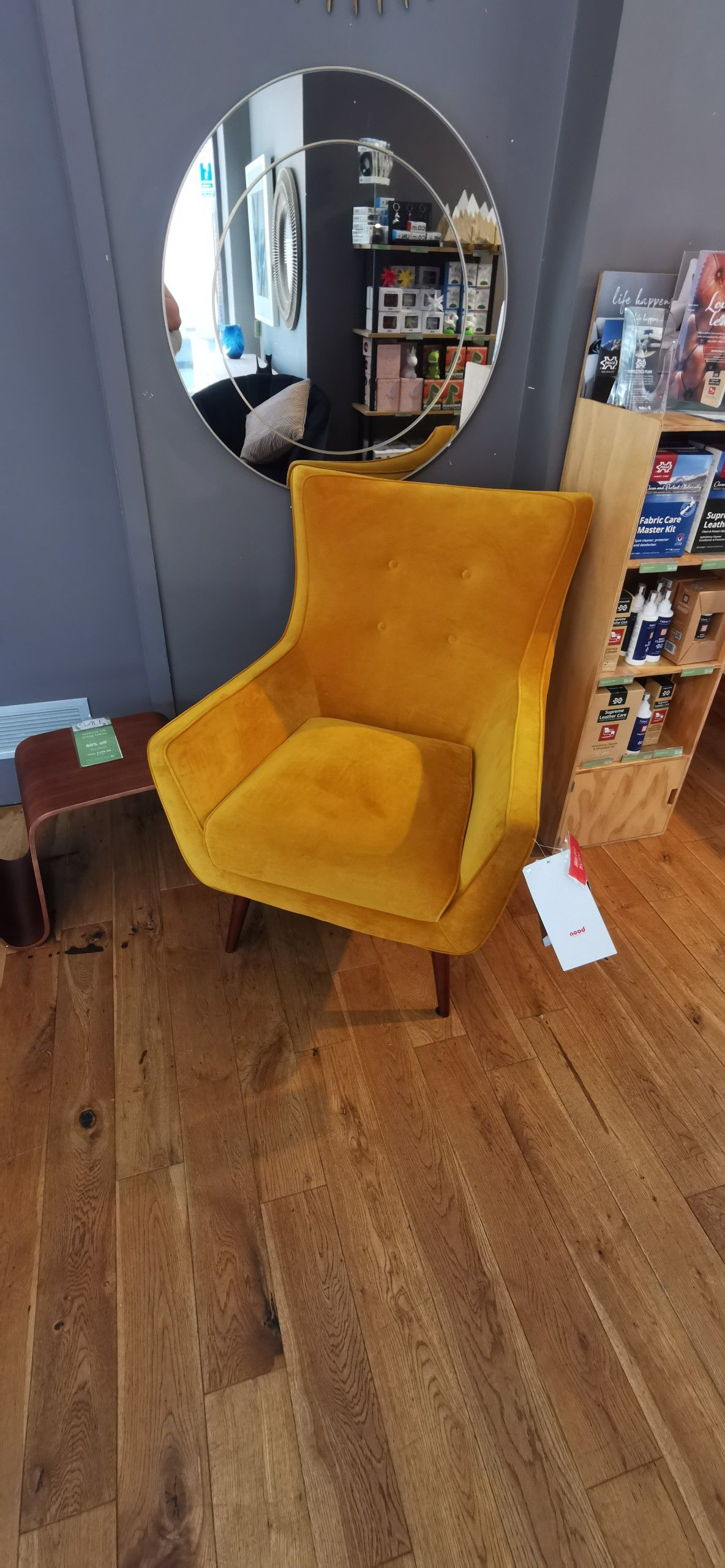 Arista armchair yellow nood yellow armchair armchair