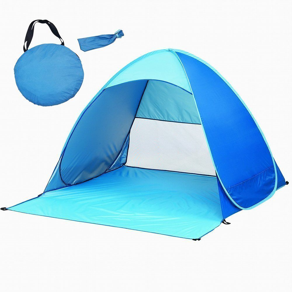Portable Instant Pop Up Beach Tent 2-3 Person Folding Sun Shelters Canopy
