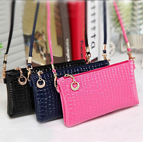 Women Girls Check Pattern Design Handbag Shoulder Crossbody Clutch Messenger Bag