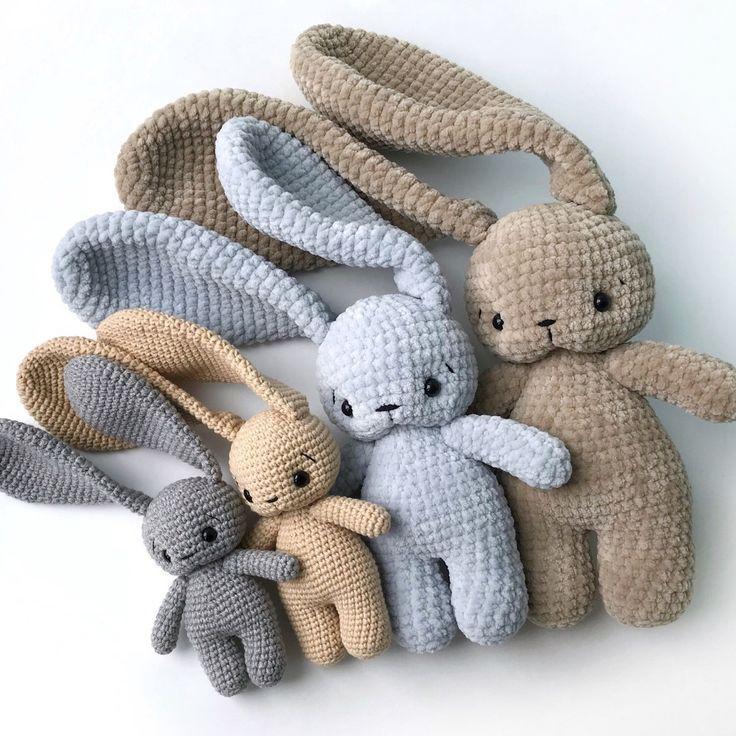 Freundliche Familienhasen! - #Familienhasen #freundliche #crochetbunnypattern
