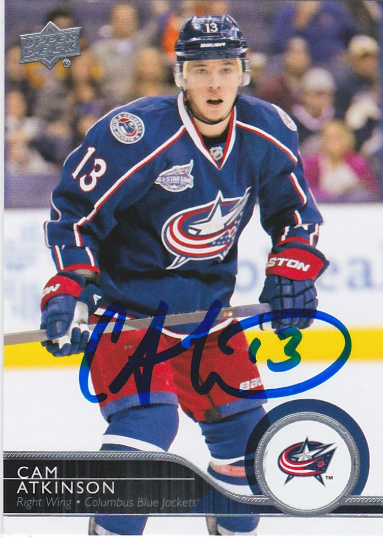Cam Atkinson  NHL Draft	157th overall, 2008 Columbus Blue Jackets Playing career	2011–present