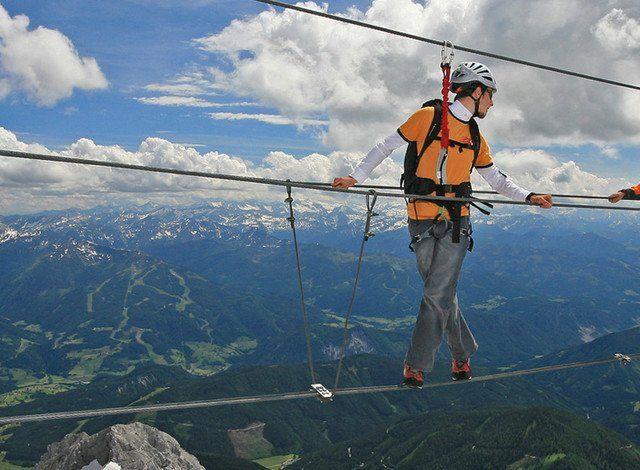 Klettersteig Dachstein : Klettersteige dachstein ramsau schladming