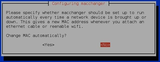 Step-by-step: How to change MAC address in Kali Linux using