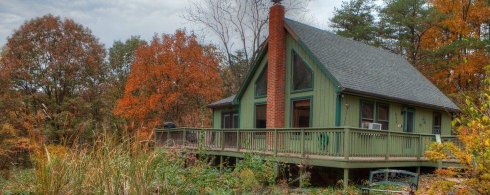Cabin vacation rental in Berkeley Springs from