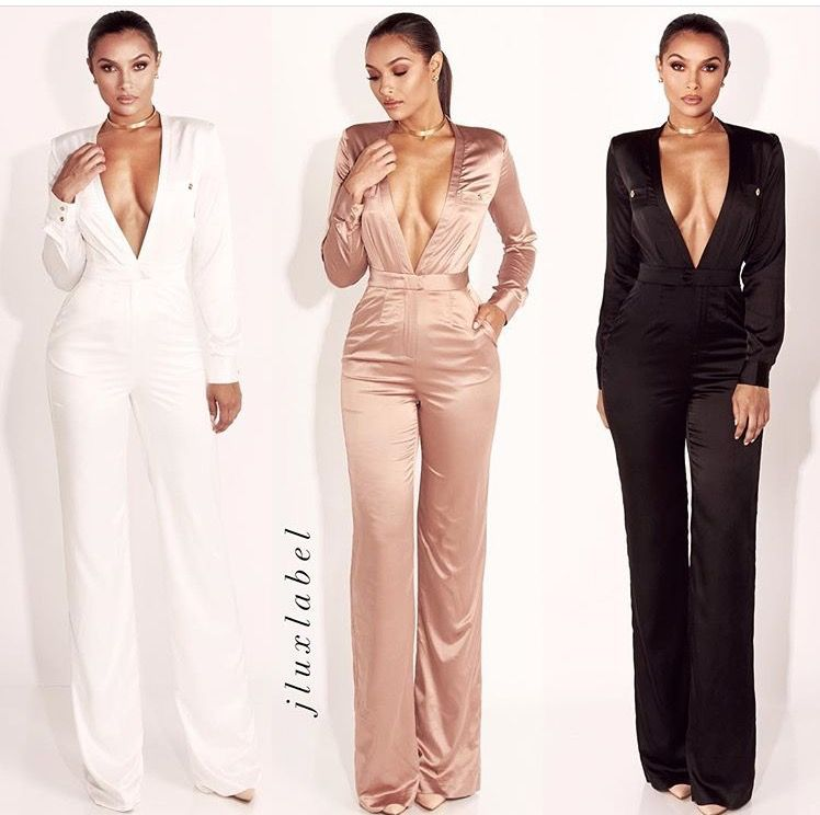 Elegant Jumpsuit Dinner Outfit Classy Birthday Outfit For Women Jumpsuit Elegant