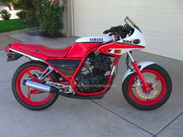 1987 1990 Yamaha Srx 250 Specs