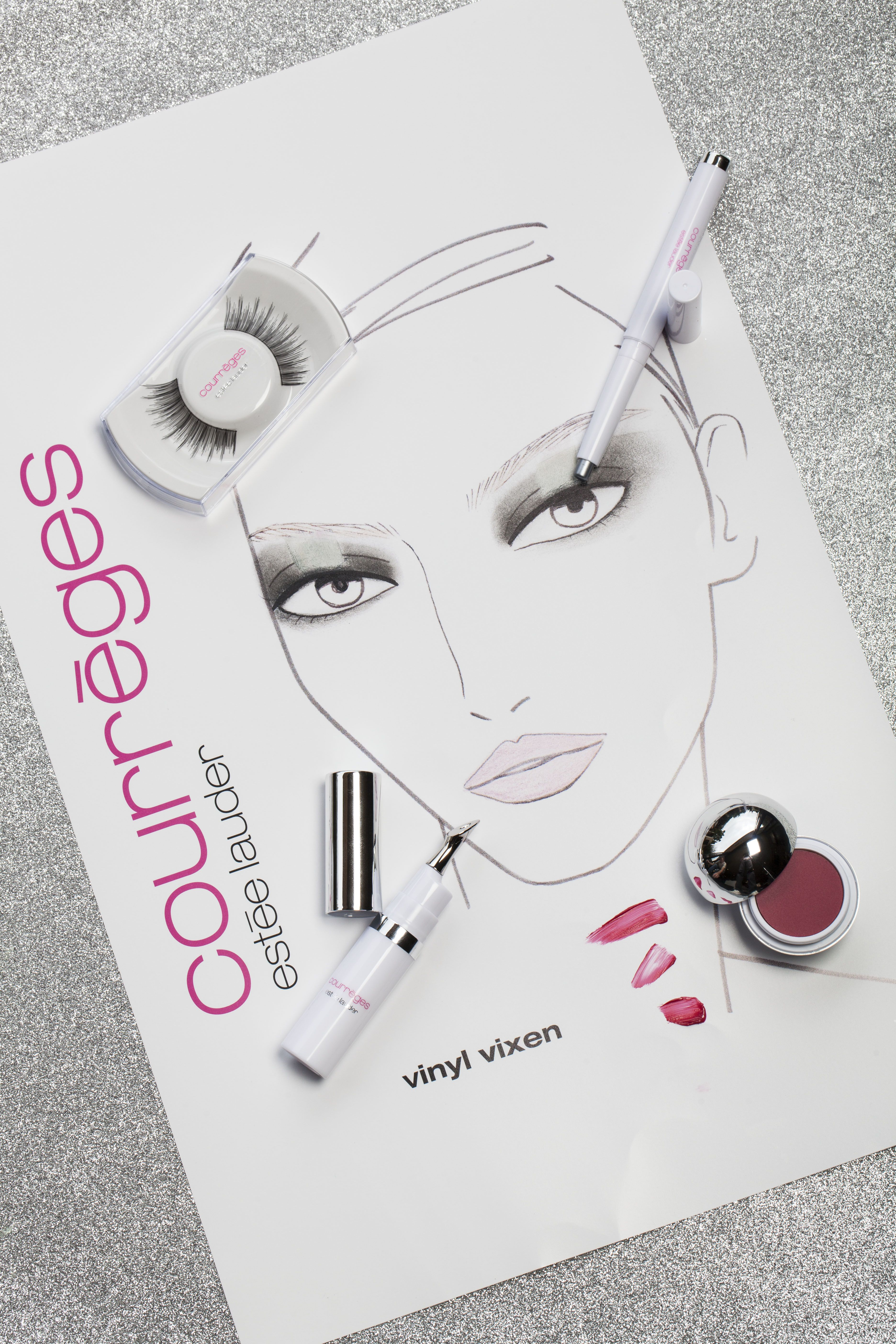 2019 year for girls- Lauder estee courreges spring makeup collection