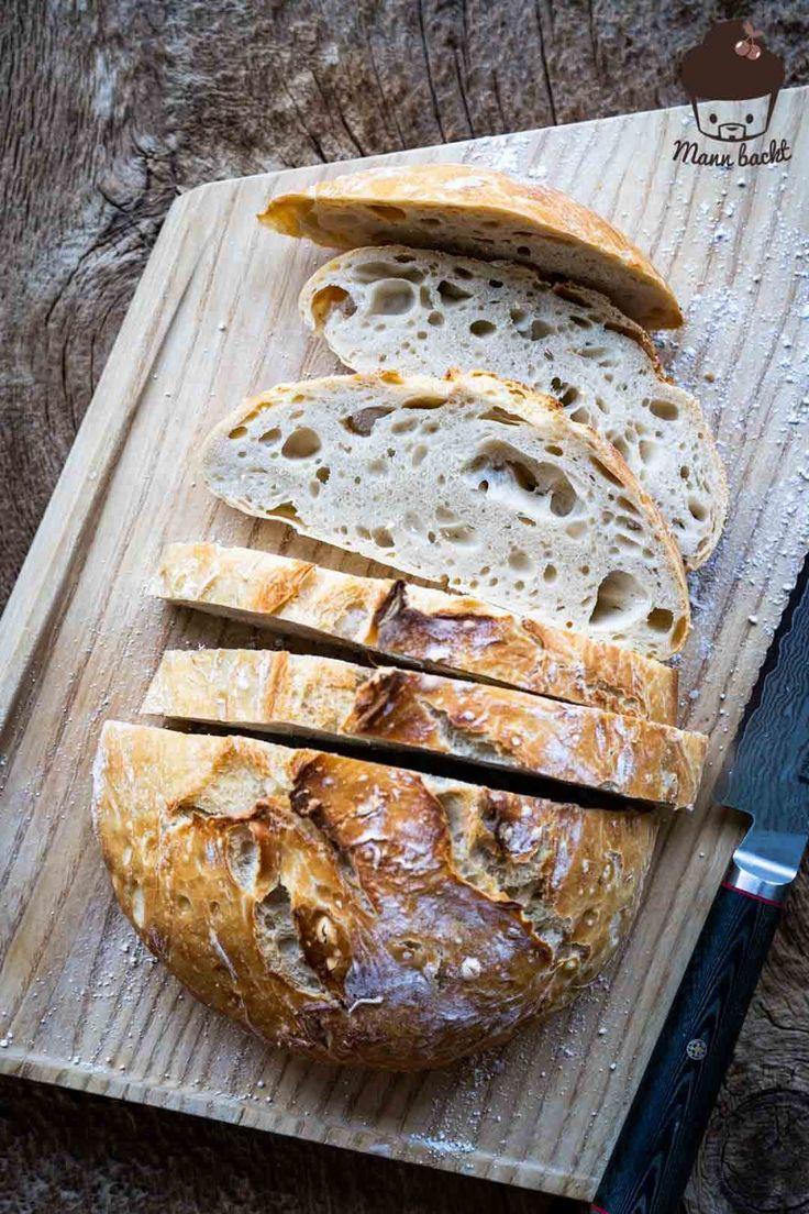 5 Minuten Brot  das einfachste Brotrezept der Welt  Mann backt 5 Minuten Brot  das einfachste Brotrezept der Welt  Mann backt